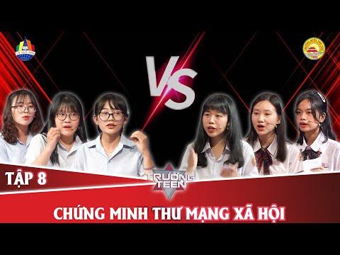 Trường teen 2020 Tập 8 | THPT Chuyên Lê Quý Đôn - Đà Nẵng vs THPT Chuyên Quốc Học Huế - TT Huế