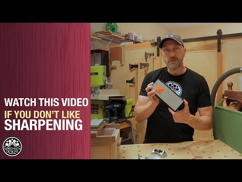 Watch This Video if You Don't Like Sharpening - Woodworking on a Budget