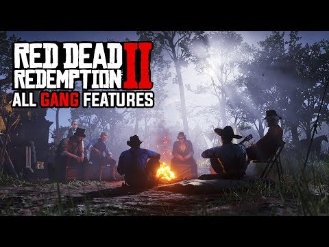 Red Dead Redemption 2 Feature Overview: All Gang Features, Rival Gangs, Camp Morale & Side Missions!