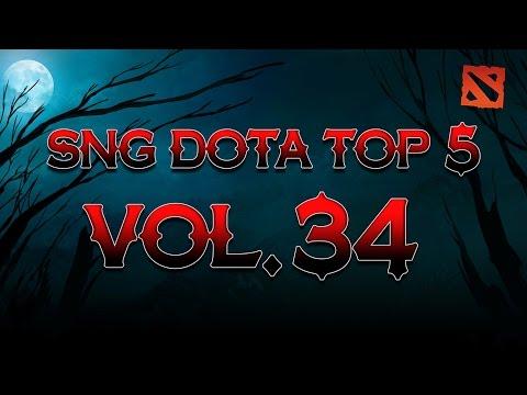 SNG Dota Top 5 vol.34