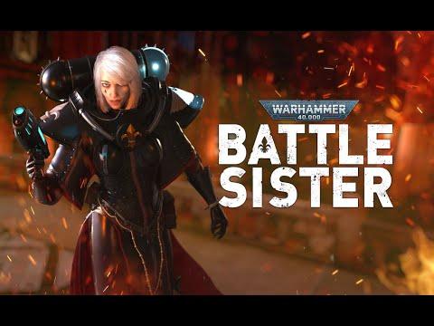 Announce Trailer | Oculus Quest Platform de Warhammer 40000: Battle Sister