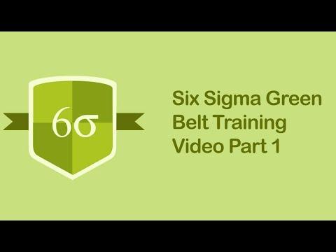 Six Sigma Green Belt Training Video | Six Sigma Tutorial Videos ...