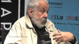 Mike Leigh explains how he approaches developing the characters in his films