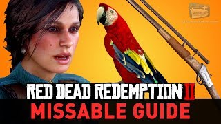 Red Dead Redemption 2 - All Missable Missions, Weapons, Animals & More