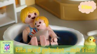 Playmobil Film Deutsch ELLA WIRD GEBADET…MIT TINTI ♡ Playmobil Geschichten Mit Familie Miller