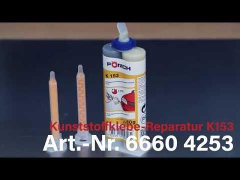 Kunststoffklebe-Reparatur 2K-Hi-Speed K153