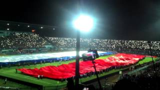 Aremania - Biggest Indonesian Flag