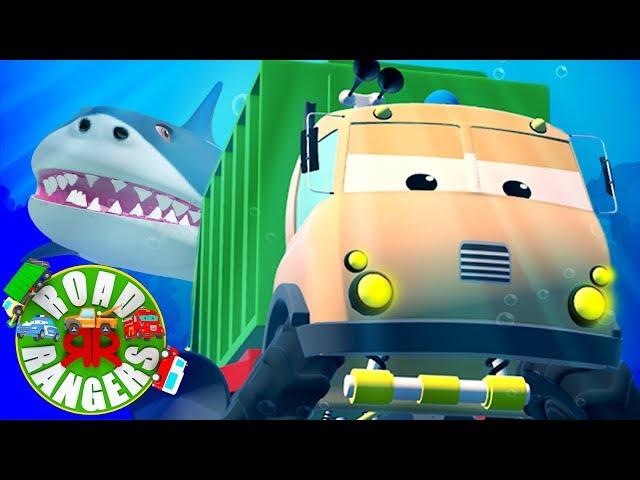 Frank And The Flying Shark | Road Rangers | Kindergarten Videos For Children by Super Kids Network