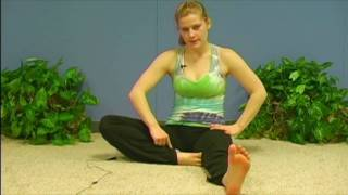 Yoga Poses w/ Sonja 10, Head to Knee Pose and Forward Bend Pose, Yoga for Beginners Asana