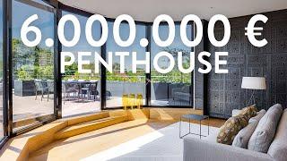 Luxus Penthouse Wohnung | Über den Dächern der Stadt