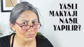 Yaşlı Kadın Makyajı