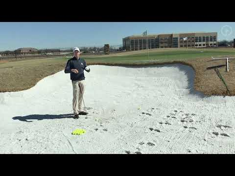 How To Hit A Proper Bunker Shot