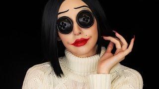 Coraline Other Mother Makeup | Halloween 2016