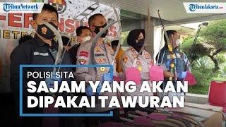 Remaja Tangerang Tawuran Pakai Busur Raksasa Hingga Trisula, Didapatkan Secara Online