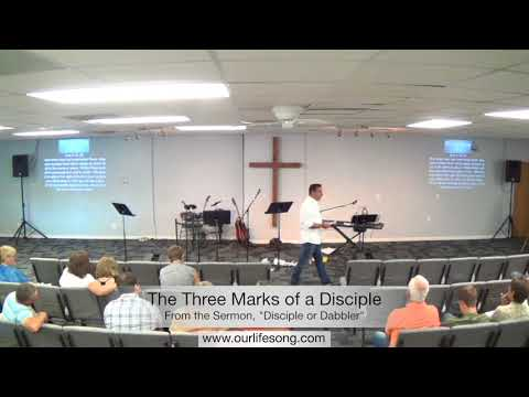 The Three Marks of a Disciple