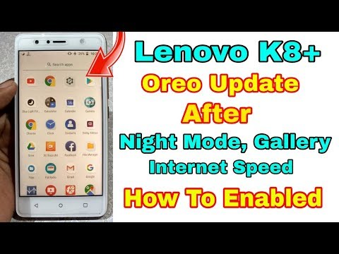 Lenovo K8 Plus Oreo update After Picture in Picture Mode