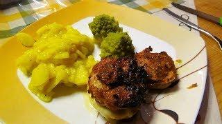 Bonus - Küchenvideo  -  Zwiebel - Leberkäsmuffins (BBQ-Leberkäse)