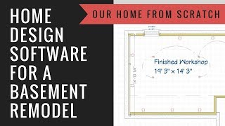 How To Use Home Designer To Plan Your Basement Remodel 2018