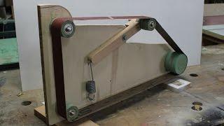 Homemade Belt Sander / Grinder/ 2x72  Part 1  Build The Frame