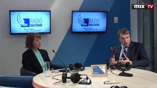 """Дискуссия о новых разработках в области фармакологии в программе """"Круглый стол"""" #MIXTV"""