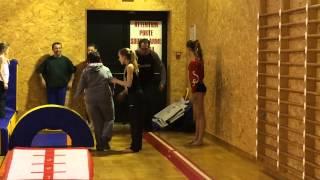 preview picture of video 'Gym & handicap - La Vaillante de Langon participe à la Journée Vivre ensemble - mars 20015'