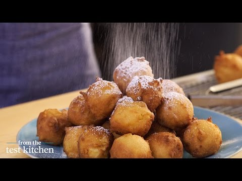 Apple-Studded Fritters – From the Test Kitchen