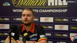 """Dimitri van den Bergh on Wattimena win: """"I've not lost a set yet and I'm not planning to lose one"""""""
