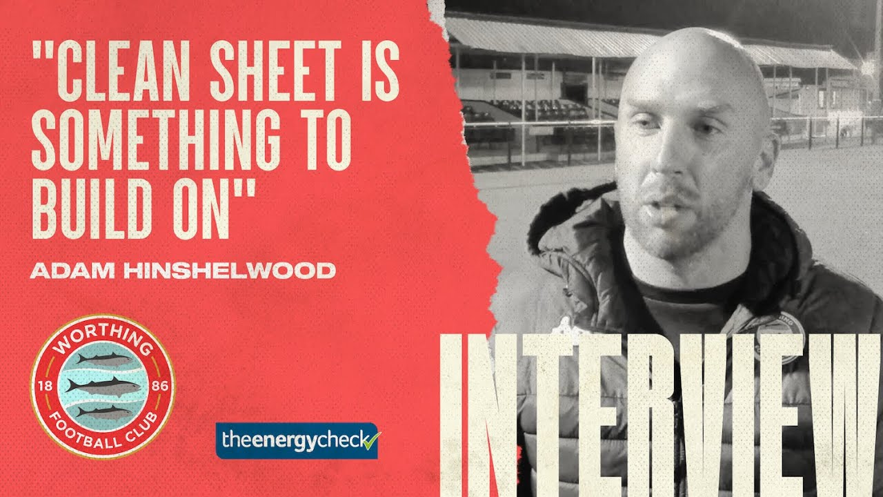 """Thumbnail for Hinshelwood: """"Clean Sheet is something to build on"""""""