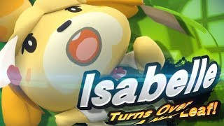 ISABELLE FOR SMASH ULTIMATE!? NEW ANIMAL CROSSING!? - Omni