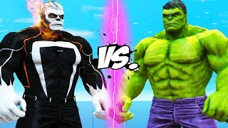 THE HULK VS GHOST RIDER - HULK