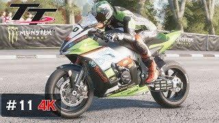 Flying Onboard Race - TT Isle of Man Triangle Raceway [4K] Peter Hickman - Kawasaki ZX