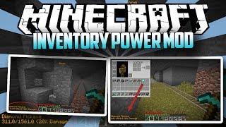 Minecraft: Inventory Power Mod [1.11.2] (SHOWCASE)
