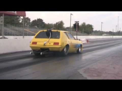 Monster AMC Gremlin Drag Racing