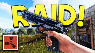 SOLO RAID DEFENCE! - Rust SOLO Gameplay #14