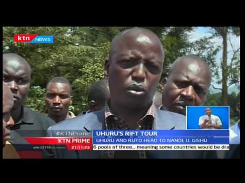 KTN Prime: President Uhuru Kenyatta and Deputy William Ruto are eagerly awaited in Uasin Gishu