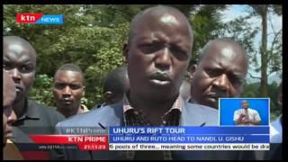 KTN Prime: President Uhuru Kenyatta and Deputy William Ruto are eagerly awaited in Uasin Gishu