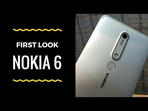 Nokia 6 (2018): First Look