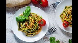 Sweet And Creamy Curry Noodles - Raw Vegan, Gluten Free