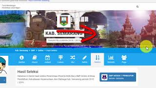 Cara Melihat Jurnal Pengumuman Penerimaan Siswa PPDB Online SD SMP SMA