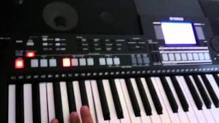 Ritmo - Style - Estilo: Te Doy Gloria - Yamaha PSR-S550B