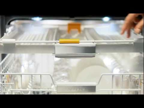 MIELE vaatwasser met 3D besteklade - De Schouw Witgoed