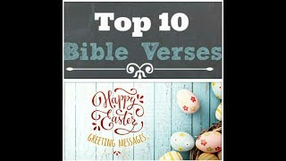 Top 10 Easter Bible Verses to write in your easter card