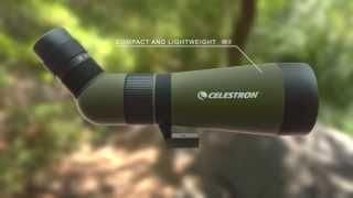 Celestron LandScout 60 mm 12-36X Angled Spotting Scope - 52322