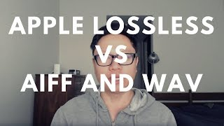 Is There A Difference Between Lossless Audio Formats Like ALAC, AIFF & WAV? 🎧