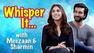 Whisper it with Meezaan and Sharmin Segal | Malaal | CineBlitz