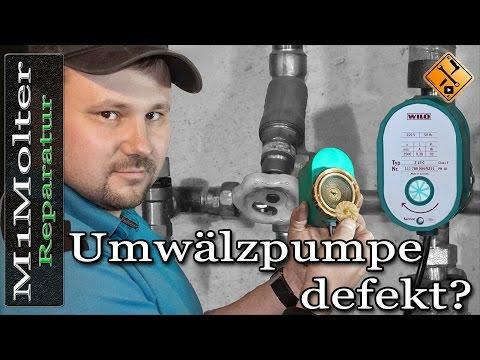 Umwälzpumpe defekt? Reparaturanleitung von M1Molter