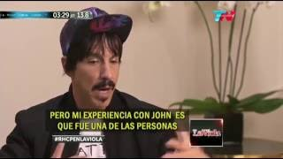 Anthony Kiedis About <b>John Frusciante</b> 2016 Interview
