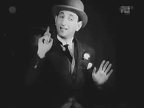 "Polish /Jewish cabaret 1929: ""Lopek"" Krukowski - Ja chcę mieć spokój! [I Want Some Peace!]"