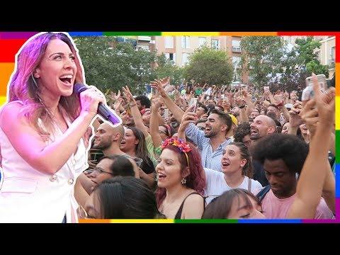 Pregón Orgullo 2019 Madrid con Mónica Naranjo (Sobreviviré🎤🎵) y arranque fiestas - Pride VLOG #1