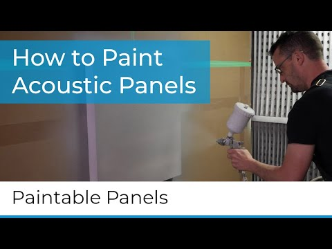 How to paint Primacoustic Paintables™
